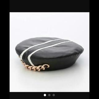 スワンキス(Swankiss)のラストヴァージン レザーベレー帽(ハンチング/ベレー帽)
