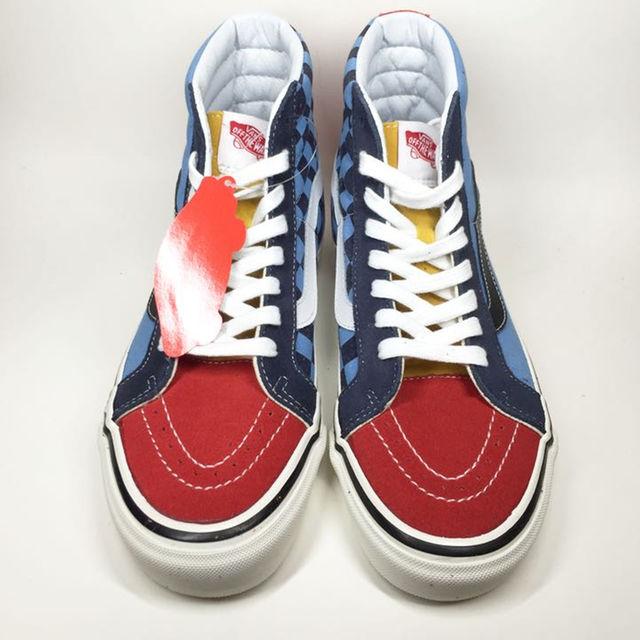 VANS(ヴァンズ)のVANS/SK8-HI スケハイ 50周年 マルチカラー US8 メンズの靴/シューズ(スニーカー)の商品写真