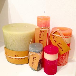 キャンドルジュン(candle june)の【新品】vance kitira キャンドル candles セット(その他)