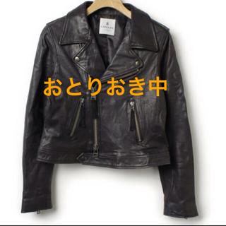 LANVIN/ ライダースジャケット☆ブラック