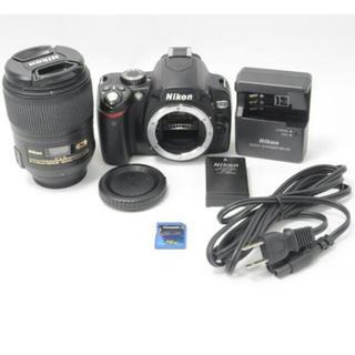 ニコン(Nikon)のNikonMicroAF-S NIKKOR60mm F2.8 G EDニコン60(デジタル一眼)