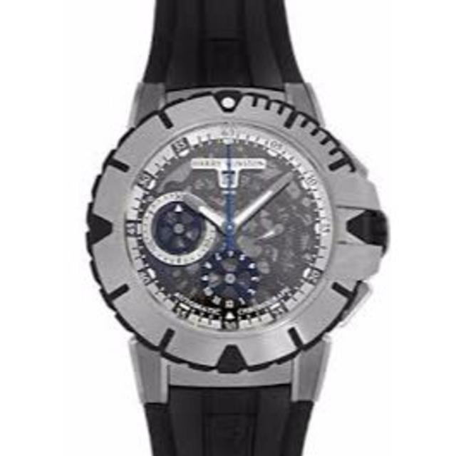 HARRY WINSTON(ハリーウィンストン)のオーシャン ダイバー クロノグラフ 411/MCA44ZC.W 249万 メンズの時計(腕時計(アナログ))の商品写真