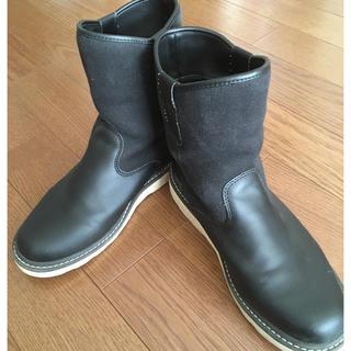 ムジルシリョウヒン(MUJI (無印良品))のようこ様専用 美品 無印良品 ブーツ 26(ブーツ)