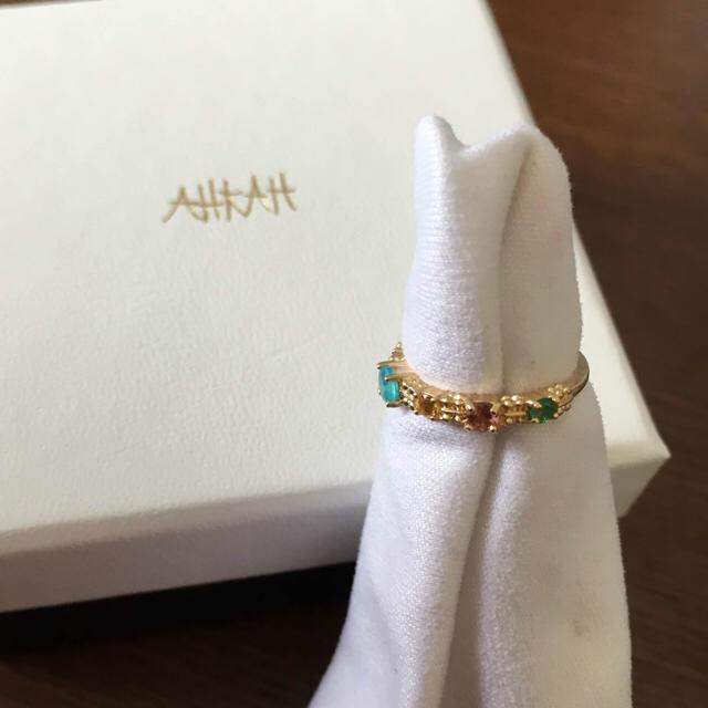 AHKAH(アーカー)のAHKAHジャルダンリングhumマリーエレーヌアガットスタージュエリーete レディースのアクセサリー(リング(指輪))の商品写真