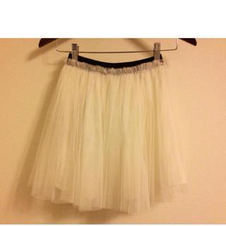 マーキュリーデュオ(MERCURYDUO)の新品♡マーキュリー♡チュールスカート(ミニスカート)