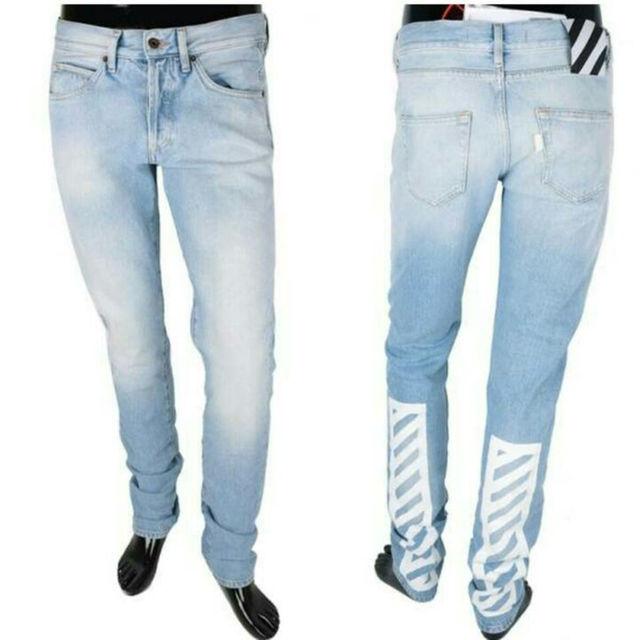 OFF-WHITE オフホワイト デニムジーンズ メンズのパンツ(デニム/ジーンズ)の商品写真