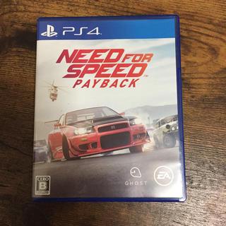 プレイステーション4(PlayStation4)のNEED FOR SPEED PAYBACK ニードフォースピード(家庭用ゲームソフト)