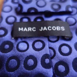 マークジェイコブス(MARC JACOBS)の定価1.5万 マークジェイコブズ ドット柄 ネクタイ パープル シルクタイ(ネクタイ)