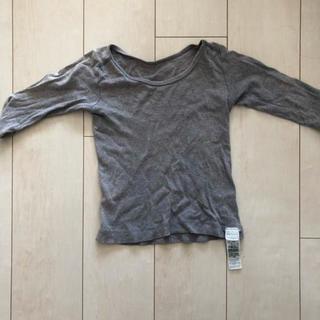 ムジルシリョウヒン(MUJI (無印良品))の無印良品 ぬくもり 長袖シャツ 110(下着)