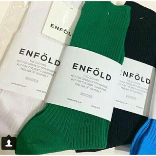エンフォルド(ENFOLD)のENFOLD 靴下新品未使用(ソックス)