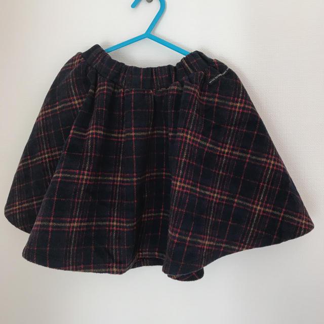 BREEZE(ブリーズ)のBREEZE 女の子 プリーツスカート キッズ/ベビー/マタニティのキッズ服 女の子用(90cm~)(スカート)の商品写真