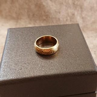 彫り模様が可愛いリング 4号(リング(指輪))