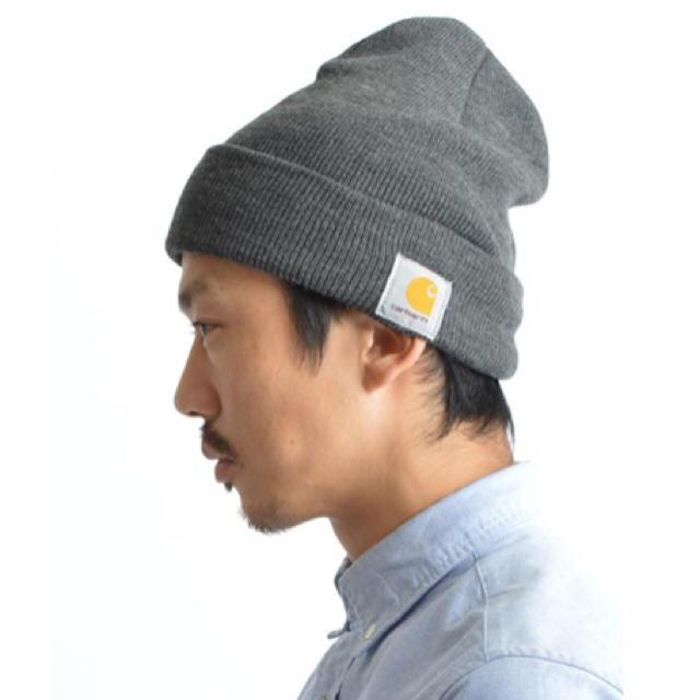 帽 carhartt ニット