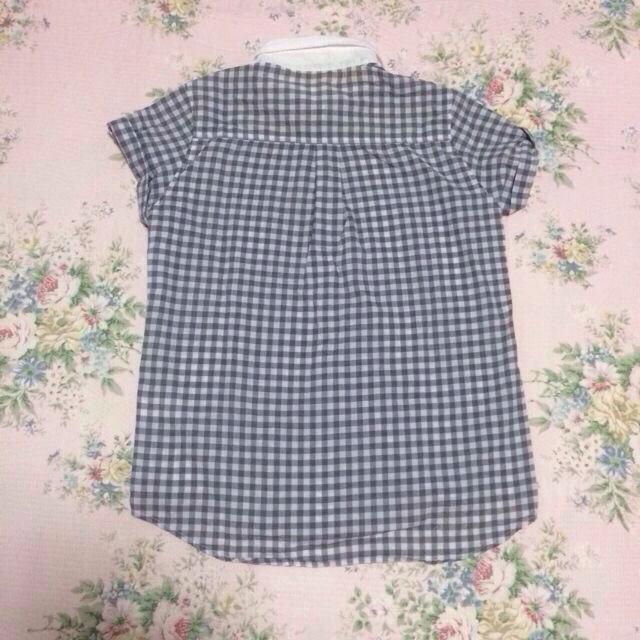 GU(ジーユー)の♡ギンガムチェックシャツ♡ レディースのトップス(シャツ/ブラウス(半袖/袖なし))の商品写真