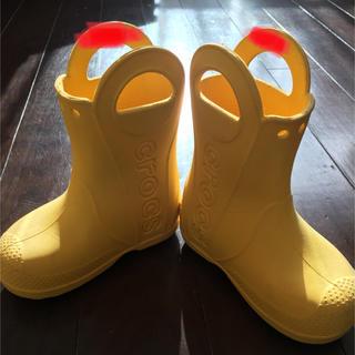 クロックス(crocs)のcrocs 子供用 レインシューズ(長靴/レインシューズ)