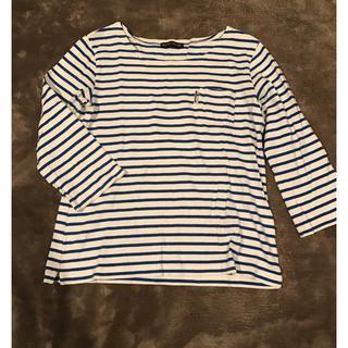 ブルーブルー(BLUE BLUE)のblue blue ボーダーシャツ(シャツ/ブラウス(半袖/袖なし))