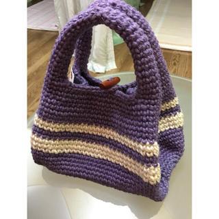 ジュート手編みバッグ(バッグ)