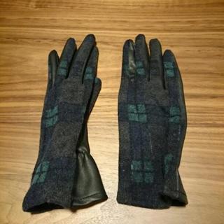 ザラ(ZARA)のZARA 手袋 チェック柄(手袋)