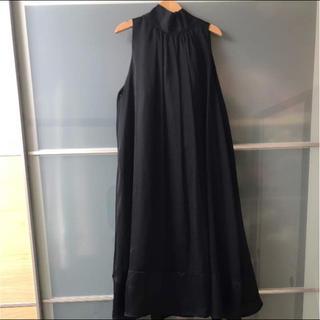 レイビームス(Ray BEAMS)の美品 レイビームス ホルターネック ドレス(ひざ丈ワンピース)