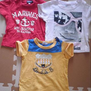 サンカンシオン(3can4on)のベビー半袖シャツ 90 3can double.b tk等 6点セット(Tシャツ/カットソー)