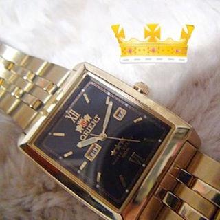 オリエント(ORIENT)のオリエントの腕時計 オートマチック 金色(腕時計)