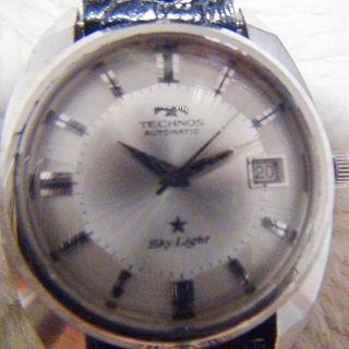 テクノス(TECHNOS)のテクノスの自動巻き腕時計1970年代(腕時計)