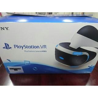 プレイステーションヴィーアール(PlayStation VR)の★PSVR★保証有★カメラ同梱版★国内版★(家庭用ゲーム機本体)