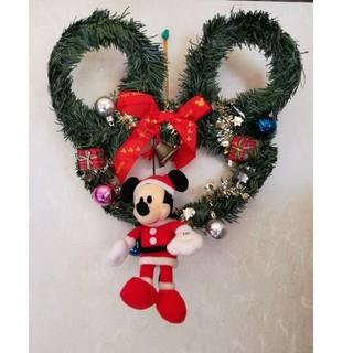 ディズニー(Disney)のDisney リース *クリスマス飾り*デコレーション(リース)