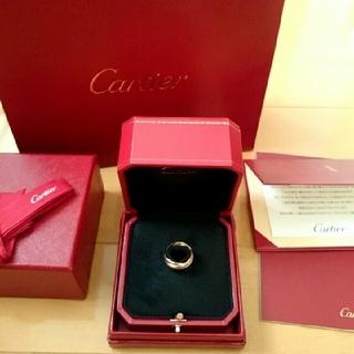 カルティエ(Cartier)のカルティエ トリニティリング 未使用期間あり(リング(指輪))