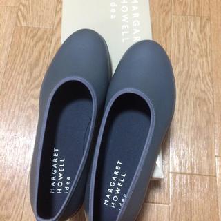 マーガレットハウエル(MARGARET HOWELL)のマーガレットハウエルアイディア グレー レインシューズ(レインブーツ/長靴)