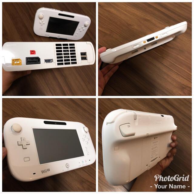 Wii U(ウィーユー)の【Z様 専用】WiiU本体 エンタメ/ホビーのテレビゲーム(家庭用ゲーム本体)の商品写真