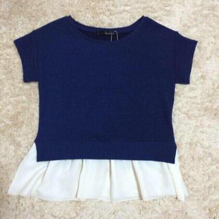 ミスティウーマン(mysty woman)のMINAKO♡様♩ペプラムトップス(Tシャツ(半袖/袖なし))