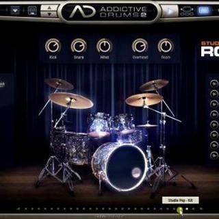 Addictive Drums 2 本体 + 拡張キット + 拡張MIDI ×2(ソフトウェア音源)