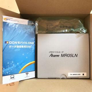 エヌイーシー(NEC)のよーちゃん様御専用【新品】NEC Aterm MR05LN (SIMカード付き)(その他)