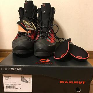 マムート(Mammut)の【新品】登山靴 Mammut マムークGTX 26.5㎝(登山用品)