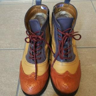 アシナガオジサン(あしながおじさん)のショートブーツ(ブーツ)