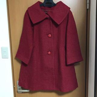 オペーク(OPAQUE)のオペーク 赤色 コート(ロングコート)
