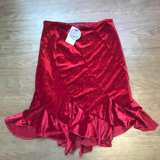 キュートゥーピー(QTOP)のQTOP タグ付き未使用 スカート(ひざ丈スカート)