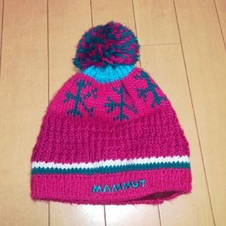 マムート(Mammut)のKANA様専用 MAMMUT ニット帽 ビーニー 登山 スキー スノーボード(ニット帽/ビーニー)