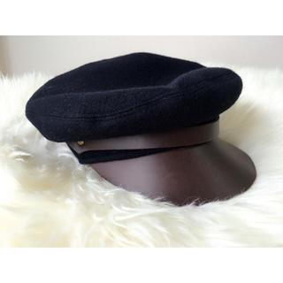 トゥモローランド(TOMORROWLAND)のトゥモローランドセレクト ウールベレーキャスケット帽(ハンチング/ベレー帽)