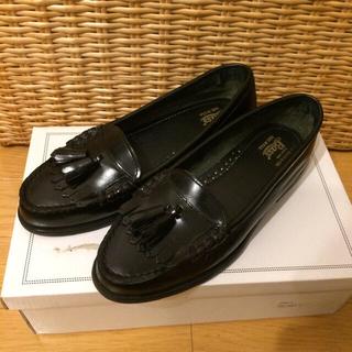 ジーエイチバス(G.H.BASS)の値下げ☆g.h.bass ローファー 黒 22.5cm(ローファー/革靴)