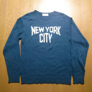フィーニー(PHEENY)のPHEENY NEW YORK CITY ジャガードニット(ニット/セーター)