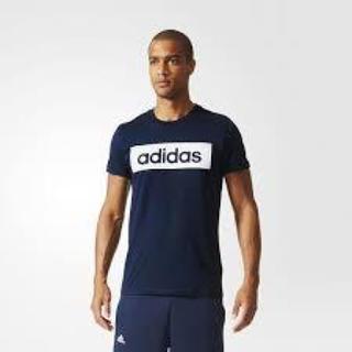アディダス(adidas)の定価3132円 adidas AK1810 ボックスロゴ シャツ(Tシャツ/カットソー(半袖/袖なし))