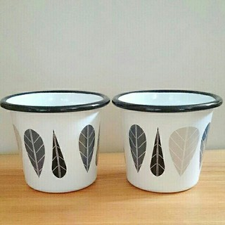 マリメッコ(marimekko)のmuurla エナメルタンブラー(S)(グラス/カップ)