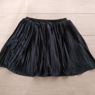 ジーユー(GU)の未着用☆レモール プリーツスカート 120-130(スカート)