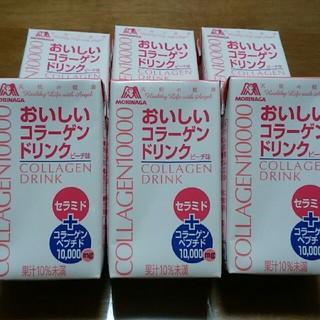 モリナガセイカ(森永製菓)の森永製菓天使の健康 おいしいコラーゲンドリンクピーチ味(コラーゲン)