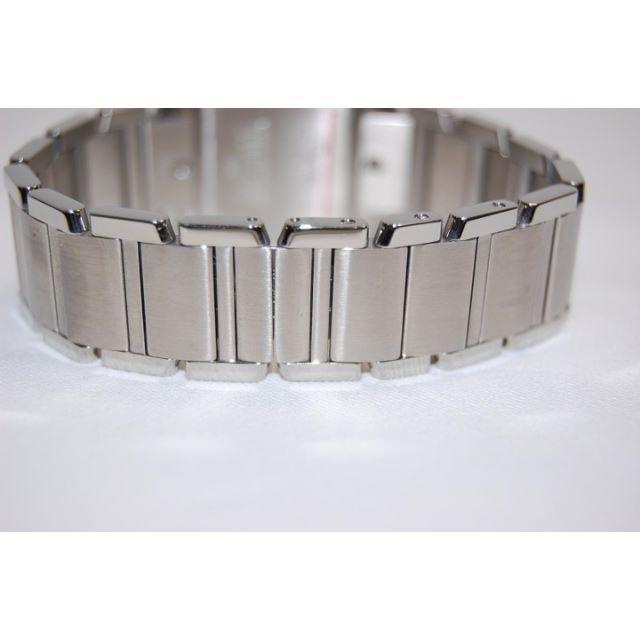 Cartier(カルティエ)のカルティエ タンクフランセーズMM SS ホワイト文字盤 クォーツ レディースのファッション小物(腕時計)の商品写真