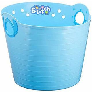 ディズニー(Disney)のディズニー スティッチバスケット 洗濯カゴ おもちゃのお片付け等に(バスケット/かご)