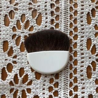 ムジルシリョウヒン(MUJI (無印良品))のコンパクトサイズ リス毛100% 無印良品 ファンデーション ブラシ(コフレ/メイクアップセット)