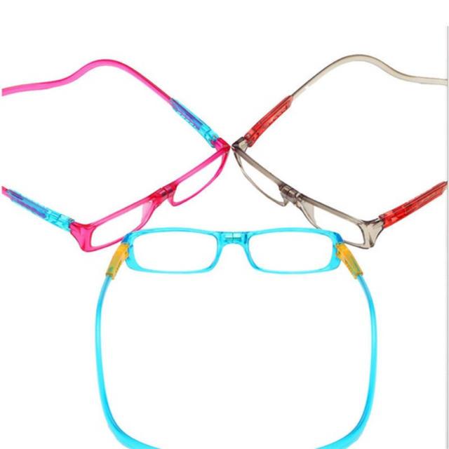 男女兼用  グレー 老眼鏡  首かけタイプ  新品 レディースのファッション小物(サングラス/メガネ)の商品写真